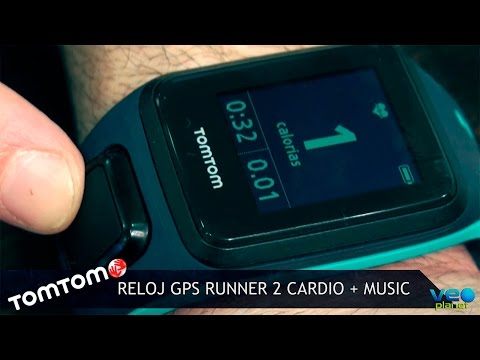 Reloj GPS RUNNER 2 CARDIO + MUSIC de TomTom