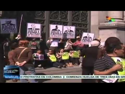 Unemployed in Spain make their voices heard in protest