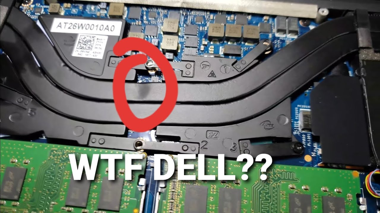 DELL WTF XPS 9570 REPASTE and Undervolting part 1