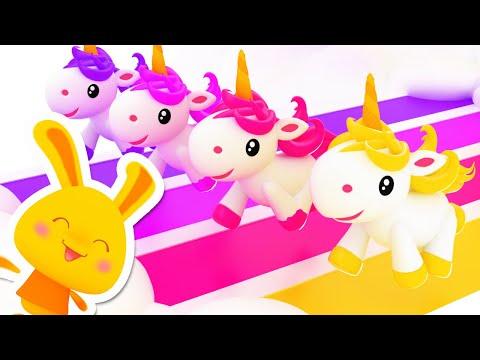 Les Licornes de Couleurs | Apprendre les couleurs avec les Licornes | Titounis Comptines Chansons