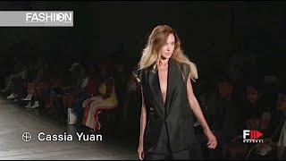 CASSIA YUAN OFS Spring 2020 New York - Fashion Channel