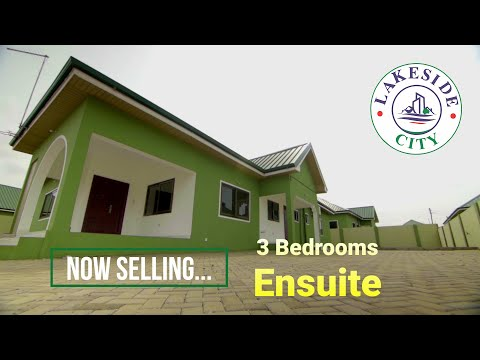 3 Bedroom EnSuite Self-contained House @Lakeside Estate, Accra Ghana