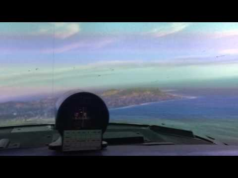 270 degrees curved screen flight simulator P3D (Home cockpit)
