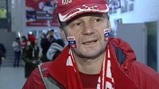Большой хоккей в Ярославле: лидер Евротура сборная России против сборной Финляндии