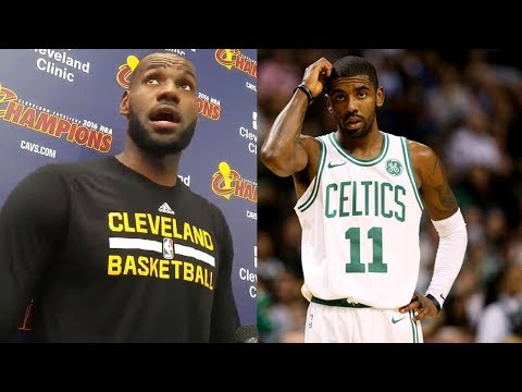 LeBron James SNEAK DISSES Kyrie Irving