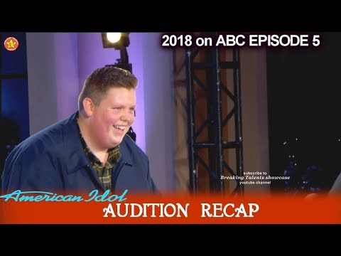 American Idol 2018 Auditions Recap Of Who Got Golden Tickets &  Hollywood Bound Contestants
