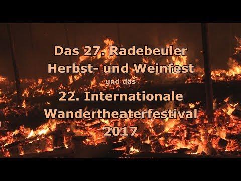 Das Radebeuler Herbst- und Weinfest und das 22. Internationale Wandertheaterfestival 2017