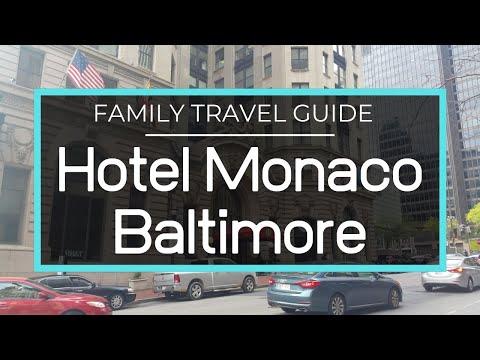 Hotel Monaco Baltimore   Full Hotel Tour   Kimpton   Baltimore Inner Harbor