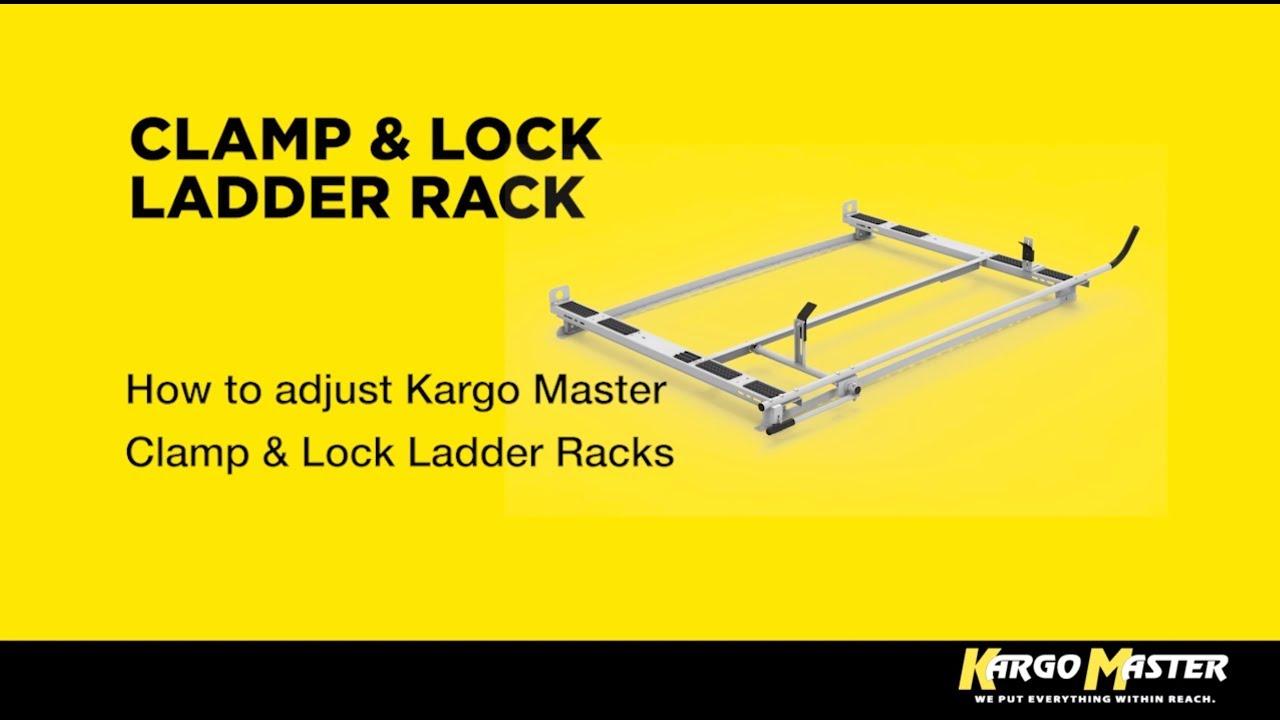clamp lock hd aluminum ladder rack 6 5 most commercial caps