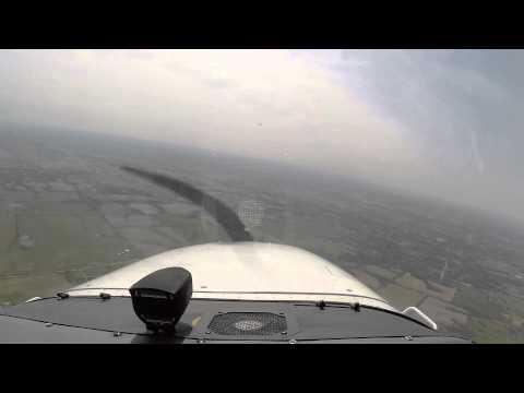 Cessna C-172SP Flight From Dubuque to Kansas City.