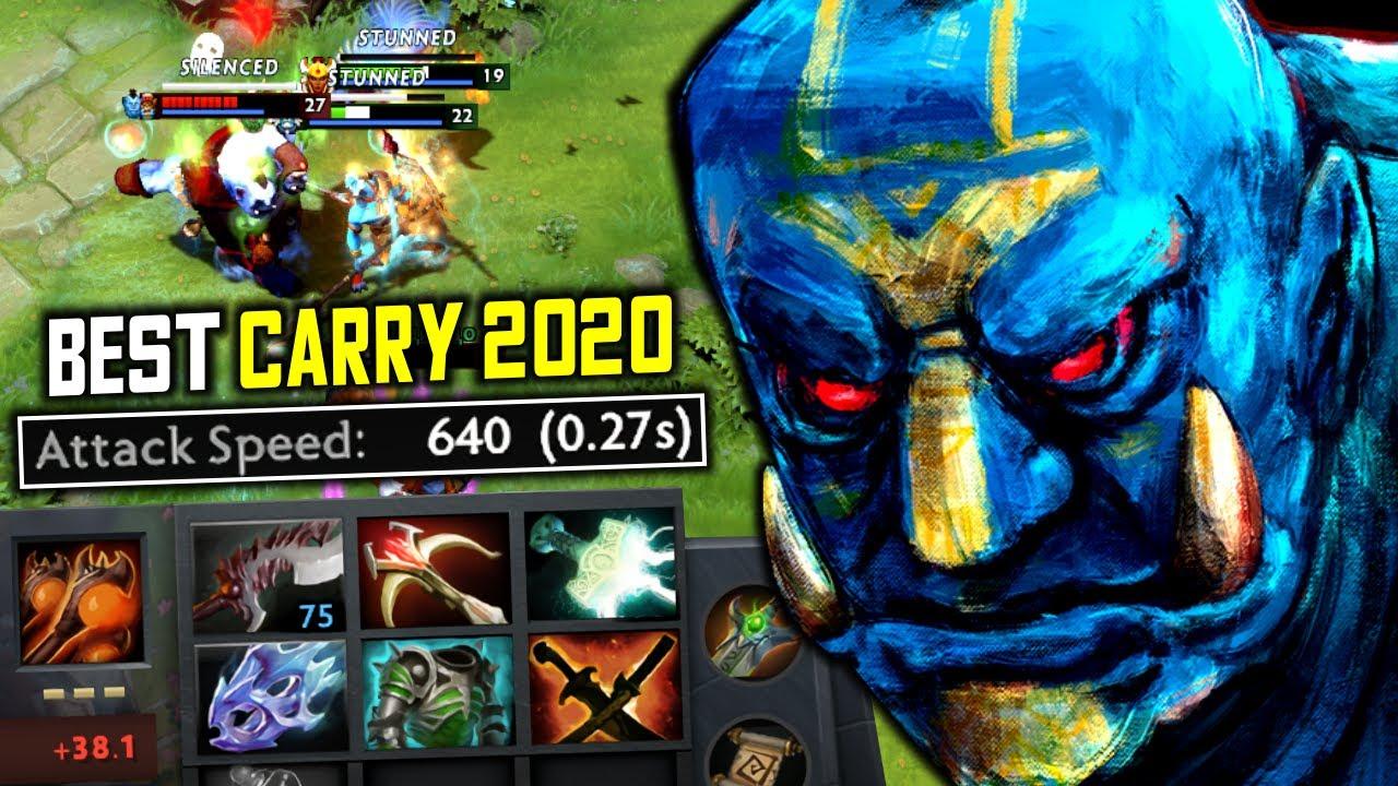 Best Carry 2020 640 Attack Speed Hard Carry Ogre Magi Full Physical Build Dota 2 Youtube