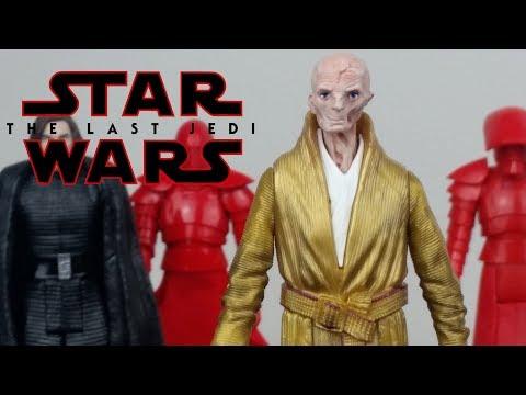 Star Wars Supreme Leader Snoke figure BB-8 2-in-1 Mega Playset
