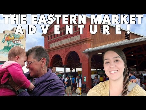 THE EASTERN MARKET ADVENTURE! Detroit Michigan