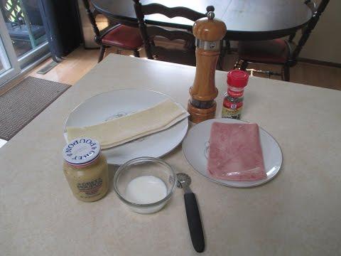 Swiss ham croissants recipe