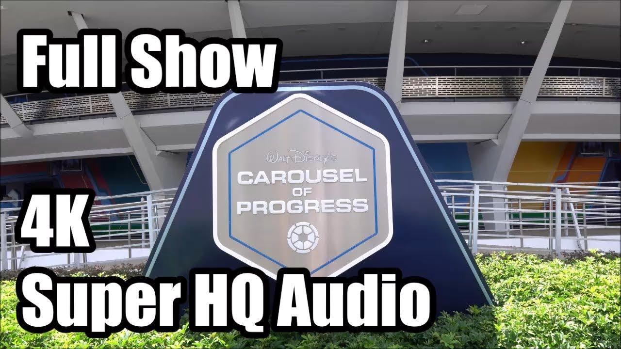 Carousel Of Progress Full Show In 4k Super Hq Audio Magic
