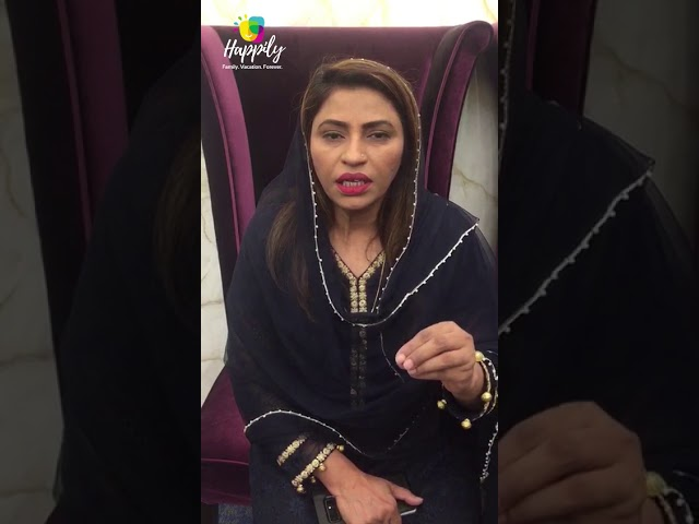 Madam Nusrat Bano Sehar Abbasi, Member of Provincial Assembly(Sindh) becomes Happily Vacation Owner!