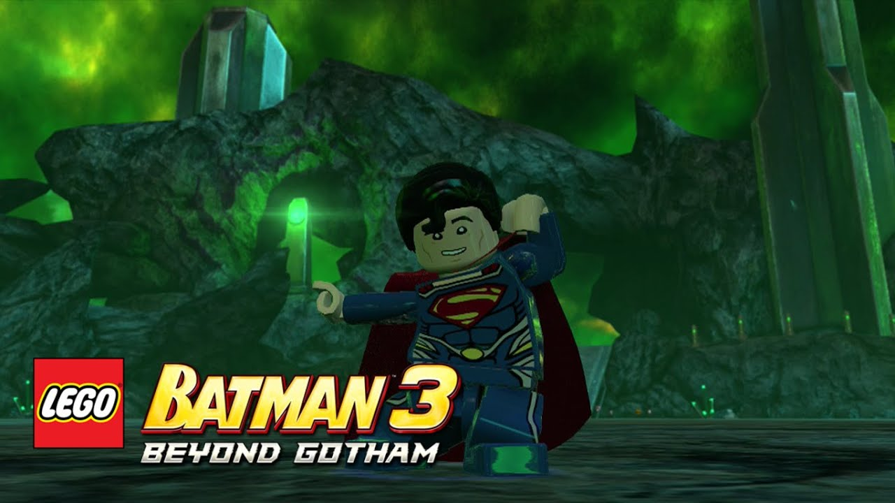 LEGO Batman 3 Beyond Gotham Superman Man Of Steel Oa