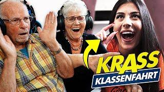 Sein DING ist zu KLEIN 😳 - Opa und Oma reagieren auf KRASS KLASSENFAHRT (Staffel 2) | Propa