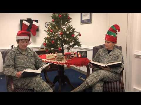 Nurse Corps Holiday Message