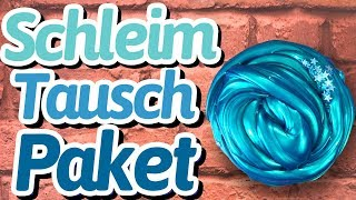 Schleim Tauschpaket mit Kuema Schleimt - WAS IST DRIN ?