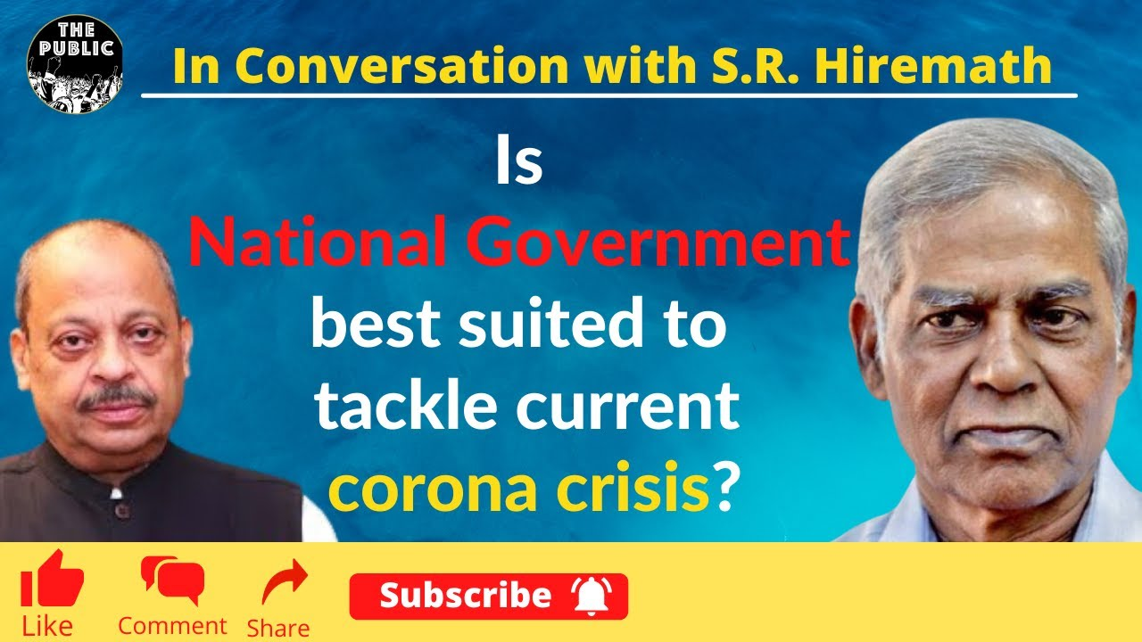 Is National Government best suited to tackle current corona crisis ?
