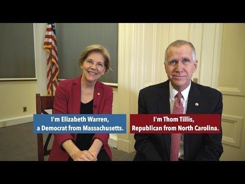 Senators Elizabeth Warren and Thom Tillis Introduce Legislation to Help Veterans