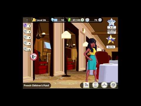 Kim Kardashian: Hollywood Level 26 [iPad Gameplay] French Children's Fund