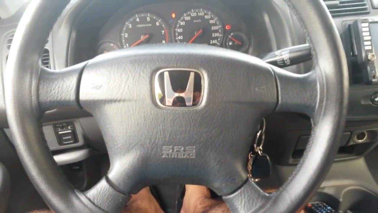 honda civic lx 2005 interior youtube. Black Bedroom Furniture Sets. Home Design Ideas