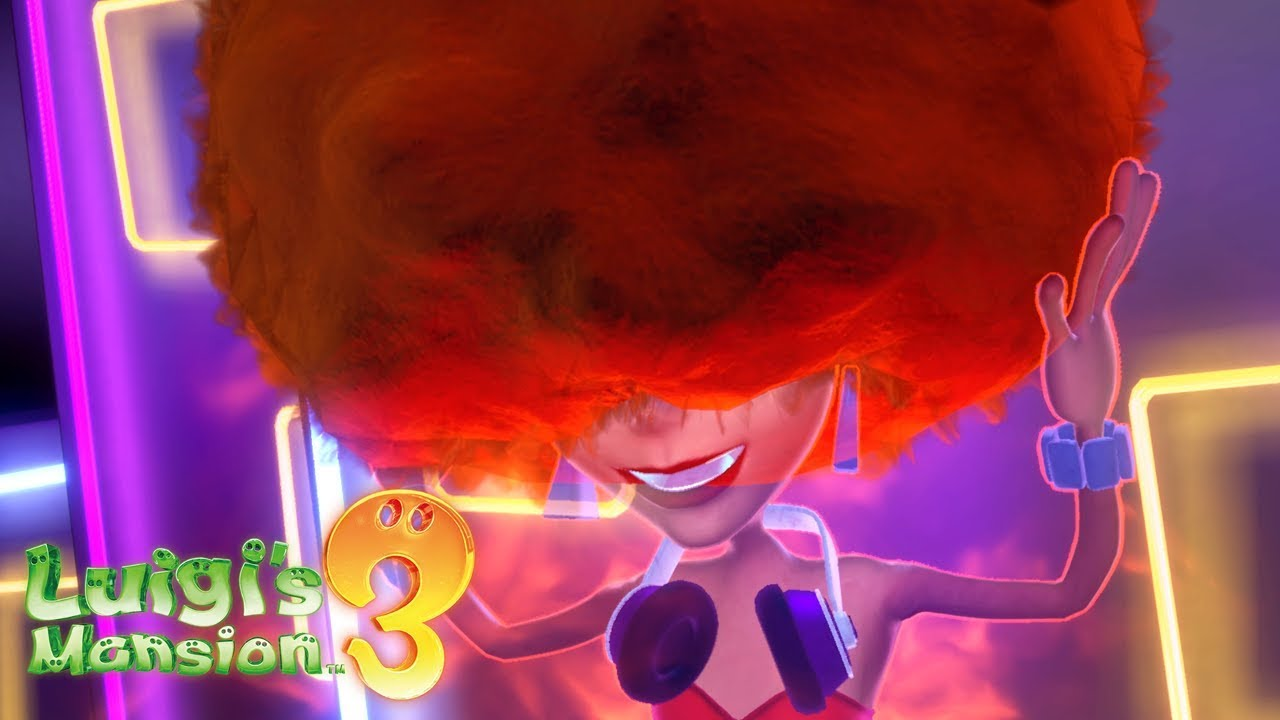Luigi S Mansion 3 Walkthrough Gameplay Part 16 Dj Phantasmagoria Boss Battle The Dance Hall