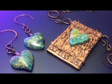 FAUX STONE AND FAUX WOOD FROM POLYMER CLAY. MOST INTERESTING TECHNIQUES IN ONE VIDEO.
