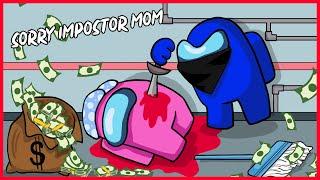 CREWMATE EVERYDAY LIFE ANIMATION - SORRY IMPOSTOR MOM