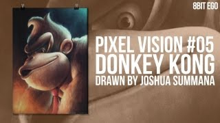 Pixel Vision #05: Heroes Collection - Donkey Kong [Speed Painting]