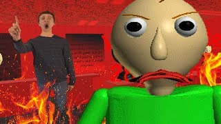 IVE NEVER SEEN BALDI DO THIS BEFORE... | Baldis Basics in Education and Learning (HIDDEN GLITCH)