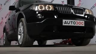 Jak vyměnit lišta zadního stěrače na BMW X3 E83 [NÁVOD]