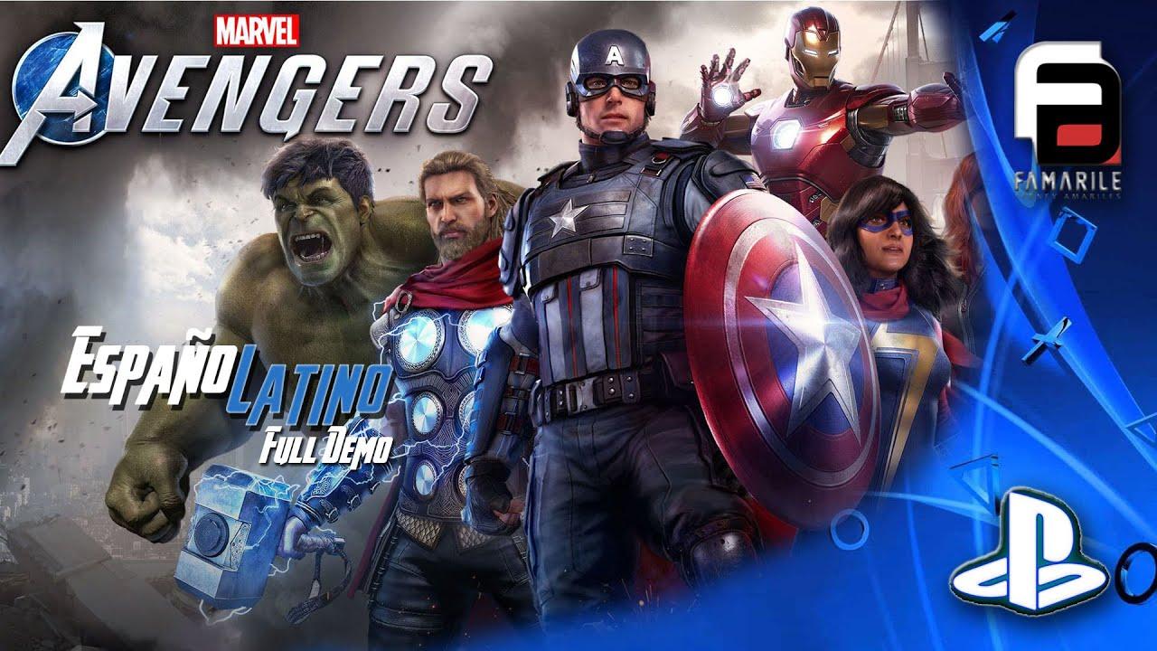 MARVEL'S AVENGERS  PS4 Español Latino Gameplay Marvel Avengers No comentado