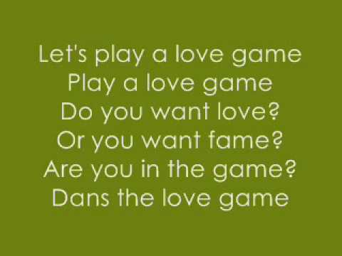 Love Game/Disco Stick By:lady Gaga [WITH LYRICS]!!!