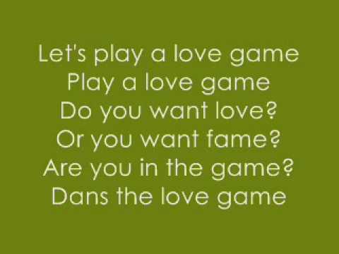 Love Game/Disco Stick By:lady Gaga [WITH LYRICS]!!!