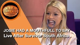 #LiveAfter Survivor South Africa: Philippines - Interview with Josie, this weeks evicted Castaway