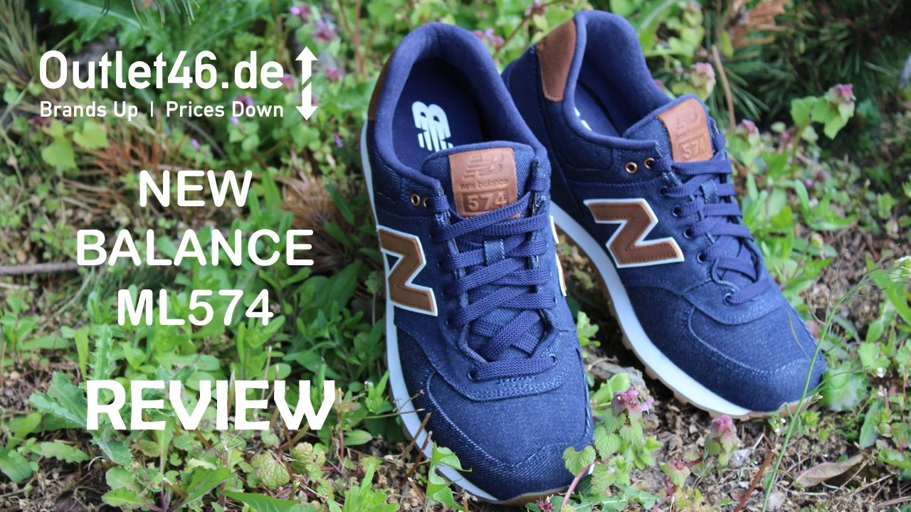 half off f12c1 471f2 New Balance ML574 TXB Hipster Hype oder Classic?! Review l On Feet l Haul l  Overview l Outlet46
