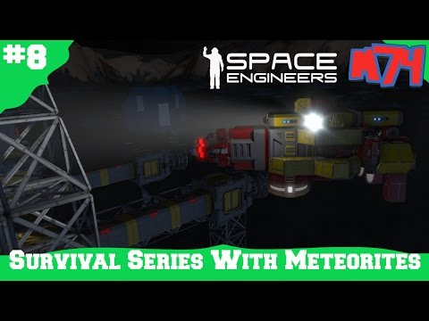 Space Engineers Survival Series: The Welding Drone [S1E8]