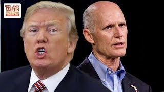 Donald Trump & Gov. Rick Scott Cry 'Fraud,' Threaten FL Election Officials,