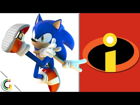 [3D Animation] The Incredibles But Everybody Is Sonic | SDR - GraphicationMaker