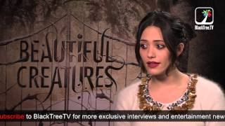 Emmy Rossum talks about her over the top character in Beautiful Creatures