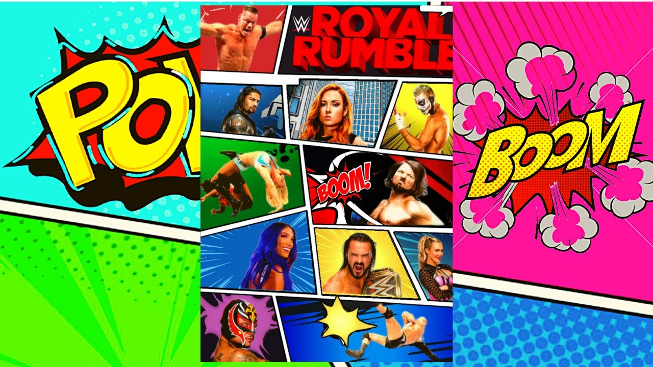 WWE Royal Rumble 2021 OFFICIAL POSTER REMAKE | How To Remake WWE Royal  Rumble 2021 OFFICIAL Poster - YouTube