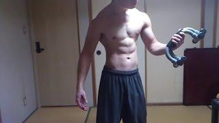 【筋トレ】初心者のプッシュアップバー トレーニング法 9種目/Parallette Training for Beginners thumbnail