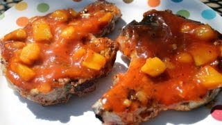 Grilled Pork Chop Recipe With Mango Bbq Sauce