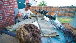 Real Snipers Ghillie Suit - The Beginning