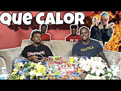 Major Lazer - Que Calor (feat. J Balvin & El Alfa) (Official Music Video)*REACTION*