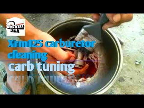 Basic Carburetor cleaning xrm125
