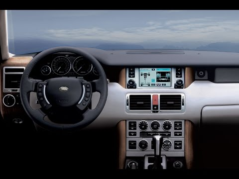 2005 Land Rover Range Rover HSE Override Shift Lock 4K